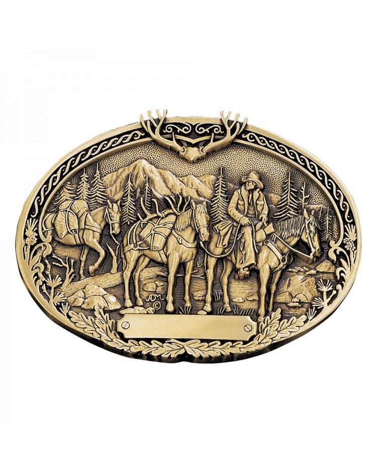 Buckle ride horses