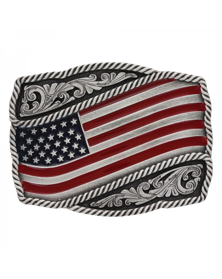 Buckle Stars and Stripes