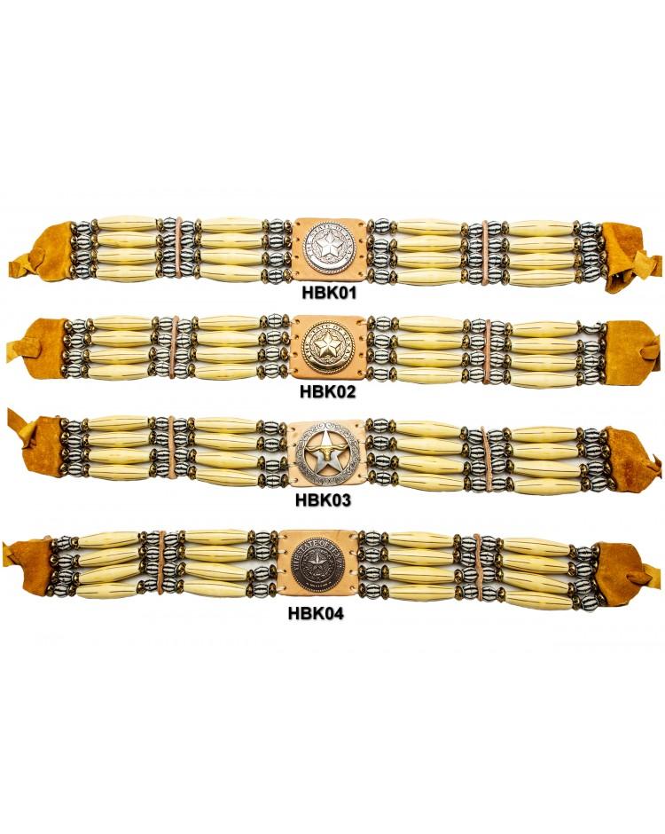 Hut- Halsband Knochen